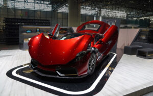 Vega EVX launched at the Geneva International Motor Show Press Day